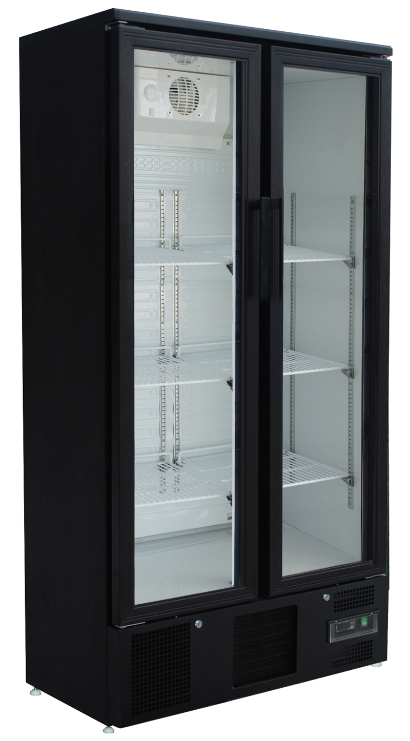 k hlschrank getr nke flaschenk hlschrank mit glast r 490. Black Bedroom Furniture Sets. Home Design Ideas